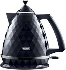 DELONGHI 1.7L Brillante Kettle - Black (KBJX2001BK)