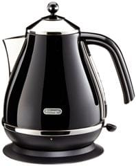 DELONGHI 1.7L Icona Kettle - Black (KBO2001BK)