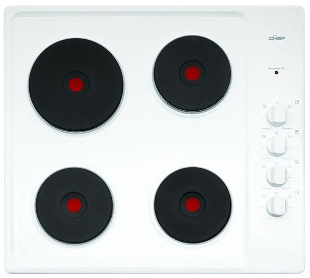 CHEF 60cm Electric Solid Element Cooktop