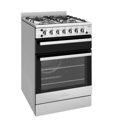 CHEF 54cm F/F Gas Oven Upright Seperate Grill w/- Wok Burner