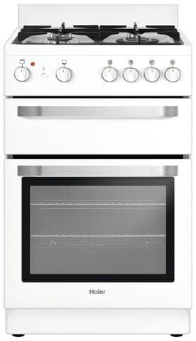 HAIER 54cm Freestanding Natural Gas Cooker White (HOR54B5MGW1)