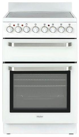 HAIER 54cm Freestanding Electric Cooktop - White 11 functions