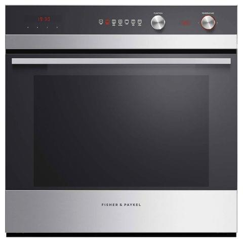 F&P 60cm Built-In Pyrolytic Oven 6 Functions (OB60SC6CEPX2)