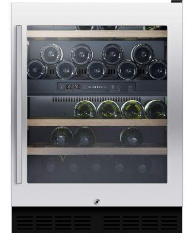 F&P 38 Bottle underbench Dual Zone Wine Cabinet (RS60RDWX1)
