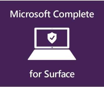 Microsoft������ COMPLETE FOR BUS 2 YR ON 2YR MFG WT SC Warranty b Australia 1 License AUD Surface Pro