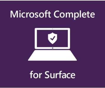 Microsoft������ Complete for Bus 1YR on 2YR Mfg Wty SC Warranty a Australia 1 License AUD Surface Laptop
