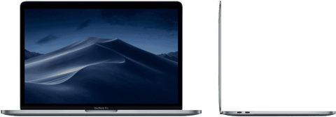 Apple MACBOOK PRO 13-INCH WITH TOUCH BAR: 1.4GHZ QUAD-CORE I5/8GB/128GB/INTEL IRIS PRO 645 - SPACE GREY (MUHN2X/A)