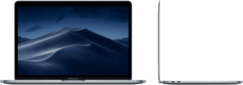 Apple MACBOOK PRO 13-INCH WITH TOUCH BAR: 1.4GHZ QUAD-CORE I5/8GB/256GB/INTEL IRIS PRO 645 - SPACE GREY (MUHP2X/A)