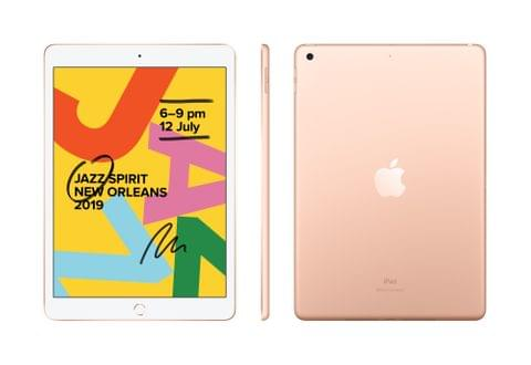 IPAD (7GEN) 10.2-INCH WI-FI + CELLULAR 128GB - GOLD (MW6G2X/A)