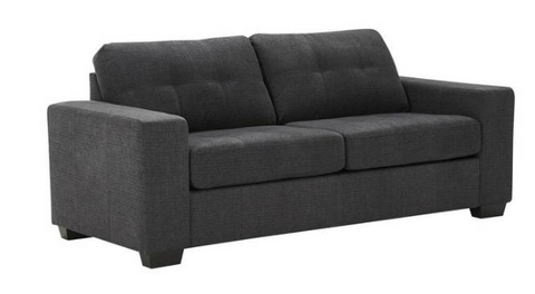 3 Seater Sofa Tivoli   Charcoal