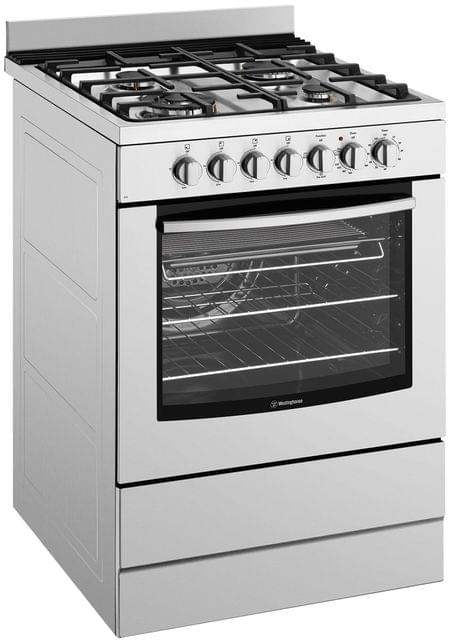 Westinghouse 60cm Electric Oven With Gas Hob