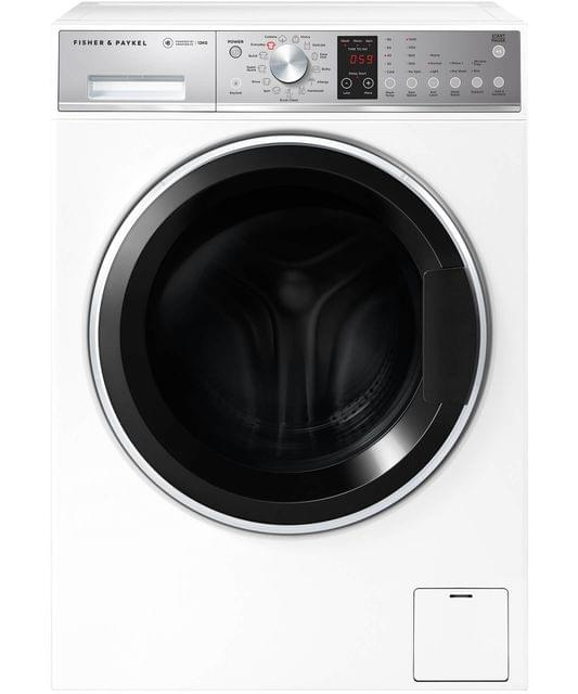 Fisher &Paykel 12Kg WashSmart Front Load Washer 4.5 WELS