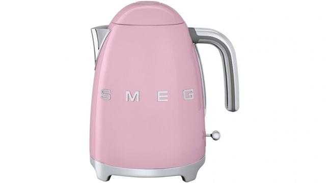 SMEG 50's Style 1.7 Litre Stainless Steel Kettle - Pink