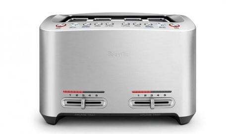 Breville The Smart 4 Slice Toaster - Brushed Stainless Steel