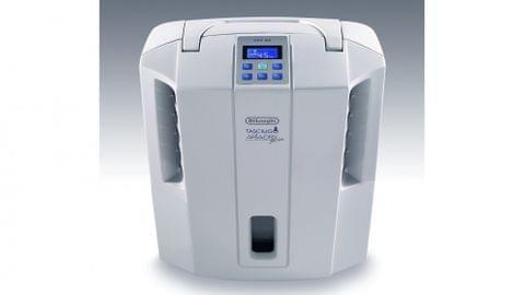 DeLonghi 16L AriaDry Slim Dehumidifier - White