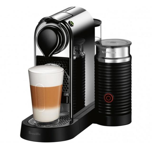 Breville CitiZ&milk Coffee Machine in Chrome