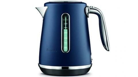 Breville The Soft Top Luxe Kettle - Damson Blue