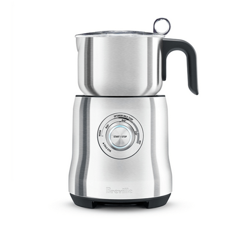 Breville The Milk Cafe Milk Frother - Brushed Stainless Steel