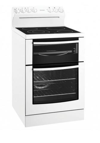Westinghouse 60cm Upright Ceramic Cooktop F/F Oven Timer