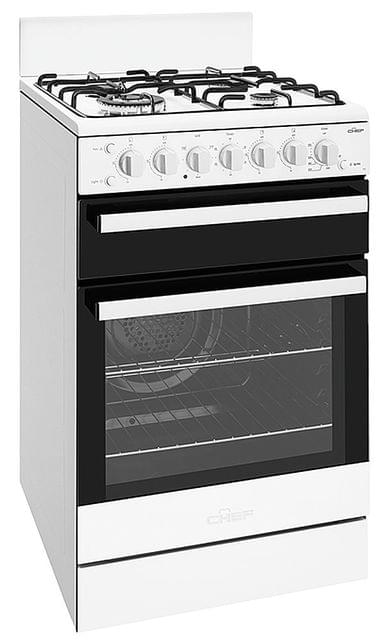 Chef 54cm F/F Oven Upright Seperate Grill w/ Wok - LPG