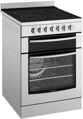 Westinghouse 60cm F/F Upright Cooker Sep Grill Ceran