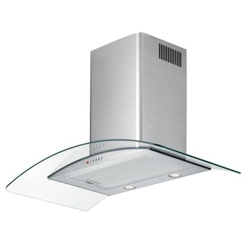 Chef 90cm Curved Glass Canopy Rangehood