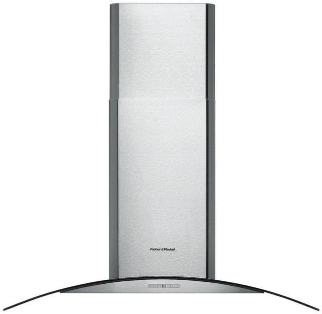 Fisher &Paykel 90cm Curved Glass Canopy Rangehood
