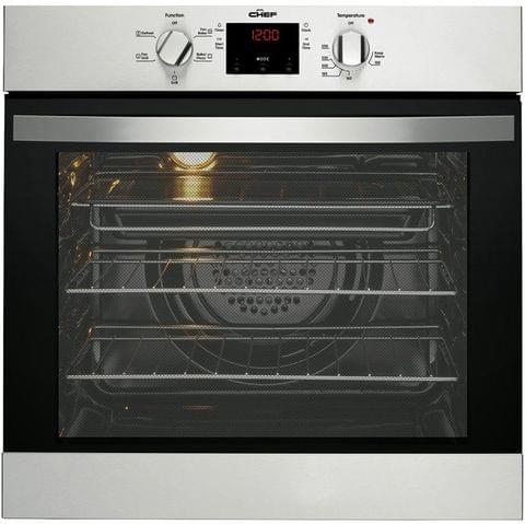 Chef 60cm Built-In Electric Oven stainless steel