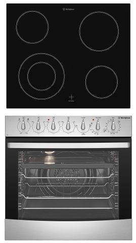 Westinghouse 60cm Combination Oven & Ceramic Cooktop