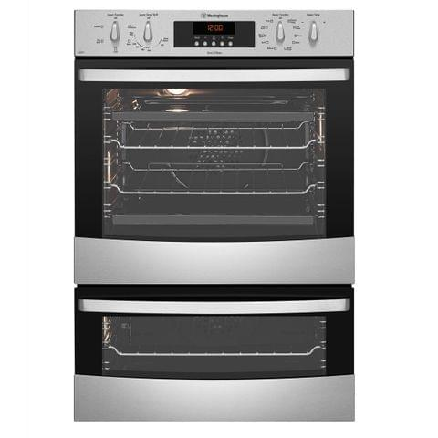 Westinghouse 60cm 80L/46L Pyrolytic Oven 8 Functions S/S