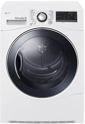 LG 8Kg Condensing Dryer with Heat Pump