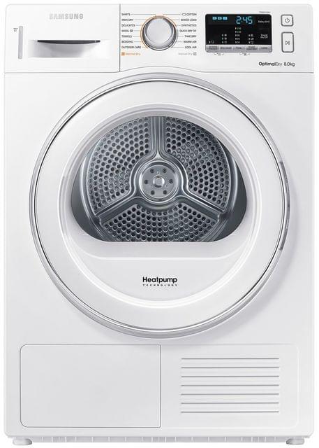 Samsung 8kg Heat Pump Dryer 7 Star Energy