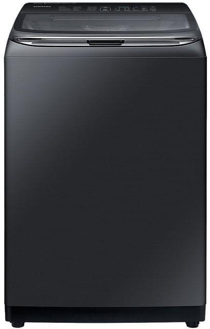 Samsung 13kg Top Load Washing Machine - Black w Glass Lid