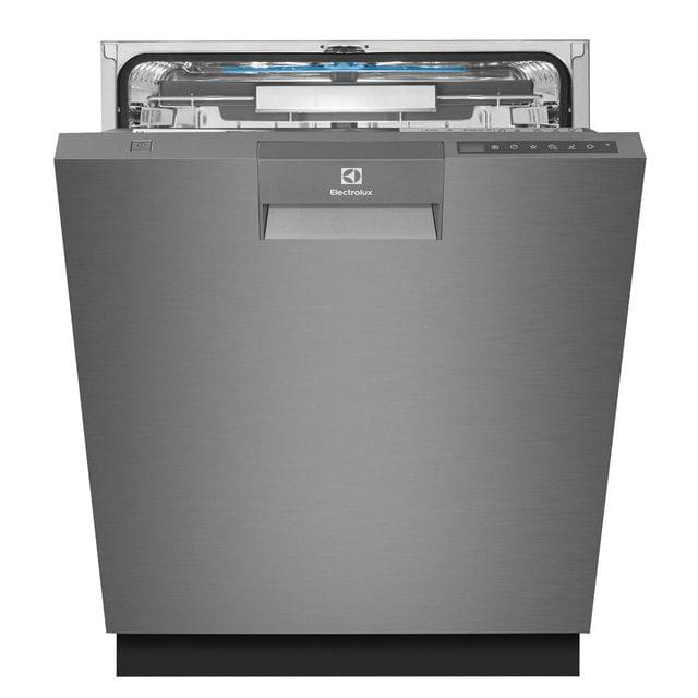 Electrolux 60cm Built-In Dishwasher 14 Place Settings Dark S/S
