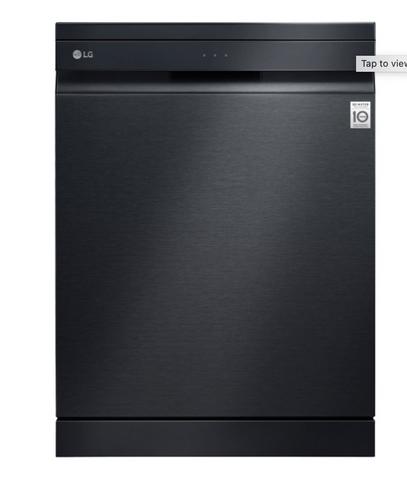 LG 15 Place QuadWash Dishwasher w/ TrueSteam - Matt Blk