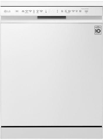 LG 60cm Freestanding Dishwasher QuadWash White