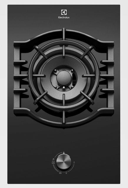 Electrolux 30cm Single Burner Black Ceramic Glass