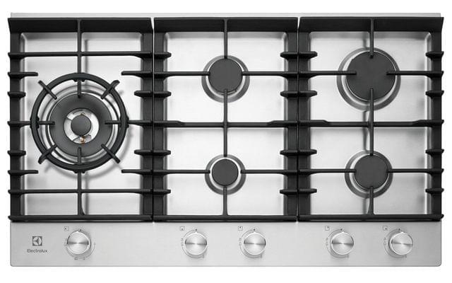 Electrolux 90cm 5 Burner Gas Cooktop C.I. Trivets