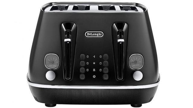 DeLonghiDistinta Moments 4 Slice Toaster Sunset Black