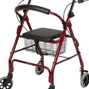SEAT WALKER WITH BASKET-AUSCARE