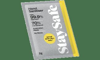 600 x 2g Sachets of Hand Sanitiser
