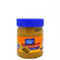 American Garden 340g Crunchy Peanut Butter