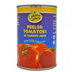 Golden Valley Peeled Tomatoes 420g