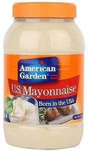 American Garden Mayonnaise 887ml