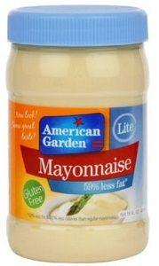 American Garden Lite Mayonnaise 473ml
