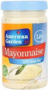 American Garden Lite Mayonnaise 237ml