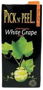 Pick N Peel White Grape Juice 1Ltr