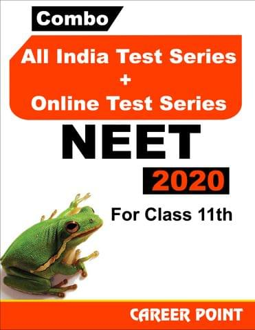 Combo: All India Test Series + Online Test Series For NEET 2020 (For 11th Class)