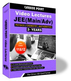 Video Lectures for JEE Mains & Adv | PCM (11th+12th) | Validity 2 Yrs | Medium : Mixed Language (E & H)
