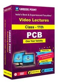 Video Lectures for NEET & AIIMS | PCB (Class 11th) | Validity 1 Yr | Medium : Mixed Language(E & H)